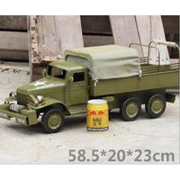 metal tin Military Vehicle model