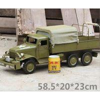 metal tin Military Vehicle model thumbnail image