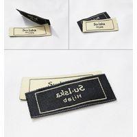 Custom woven label for garment