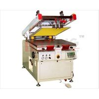 Servo motor semi automatic screen printing machine