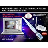 2MP SONY CCD USB Wireless receiver Dental Intraoral camera thumbnail image