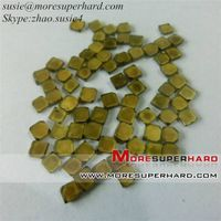 Single crystal diamond  plates for dressing tools