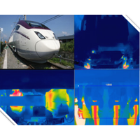 Bottom of train inspection system using thermography thermal imaing infrared IR camera thumbnail image