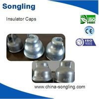 Good quality zinc coated steel cap for suspended insulator