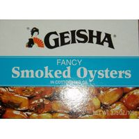 Tinned smoked oysters wholes at good price thumbnail image