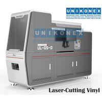 Laser-cutting vinyl machine