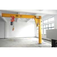 Floor Mounted Rotary Arm Hoisting Lift Cantilever Jib Crane