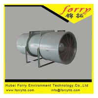 SDS series Tunnel Ventilation Jat Fan axial fan with cast aluminium impeller thumbnail image