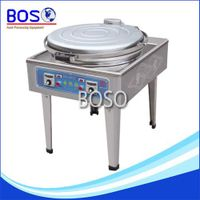 Single Plate?Electric?Crepe?Machine (Pointer Meter BOS-128-K)