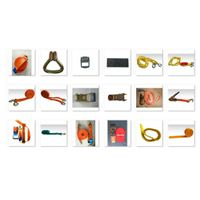Towing lines, transport belts, car accessories
