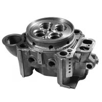 Cylinder head without valve 252107FF for MAK M25 diesel engine thumbnail image