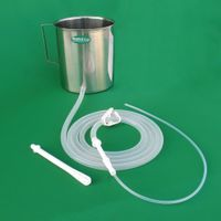 Enema Kit with Silicone Tubings - Stainless