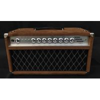 Professional Tube Guitar AMP Head 100W Dumble Tone SSS Steel String Singer Valve Amplifier in Brown thumbnail image