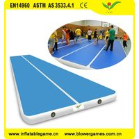 airtrick gym mat factory inflatable Air tumble track bouncy mat