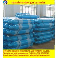 40L High Pressure Seamless Steel Gas Cylinder laughing gas Cylinder