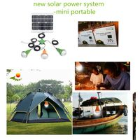 Small rechargeable led home lighting 15w mini solar energy system thumbnail image