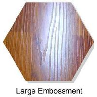 Large Embossed surface laminated flooring
