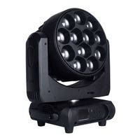 Dj Light, 12 X 40W 4-in-1 LED Moving Head Light With Zoom (PHN036) thumbnail image