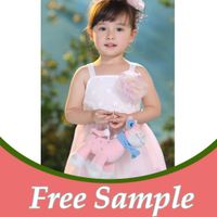 New fancy girls christmas dress kids wear girls fashion dress