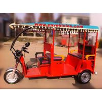Electric Tricycle/Electric Rickshaw/Three Wheelers for Passengers (SY002)