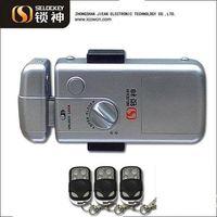Hidden Door Lock, Without Cylinder China supply high security steel door lock(LY15CR2)