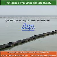 Type III Rubber Type Silt Curtain Boom For Rough Water thumbnail image