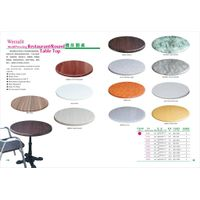 Round Werzalit Mold Pressing Restaurant Table Top thumbnail image