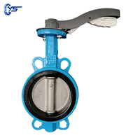Low price PN16 4inch ductile iron wafer type butterfly valve seal ring