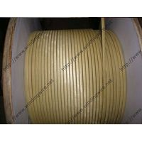 Fiber glass covered enameled wire thumbnail image
