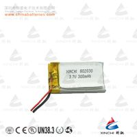 Hot sale rechargeable battery 602030 3.7v 300mah lipo battery