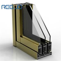 Aluminum Extrusion Window Profile for Sliding Window and Casement Window