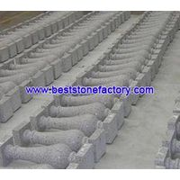 granite/stone baluster, handrail