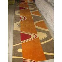 Hand tufted acrylic carpet