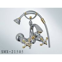 Double lever bathtub faucet,SMX-21505