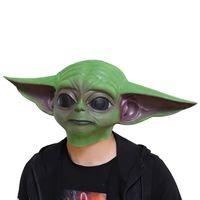 STARWAR Youda master baby latex mask Hallowee helmet mandalorian mask helmet thumbnail image