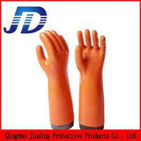 Nylon safety work gloves for machinery industry