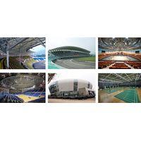 Prefabricated Structure Steel Sports Hall/Basketball Gym/Football Stadium/The Indoor Stadium