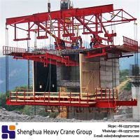 China HSHCL 160 ton balanced construction segmental bridge casting form traveller machine thumbnail image