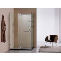 Transparent Glass simple Shower room