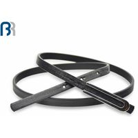 Fashion Black PU Belt