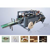 High Speed twist-rope & Flat-belt handle machine WFD-100-1