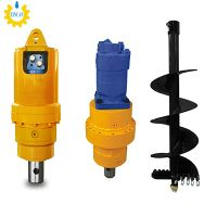 Adh 2.5-4.5t Series High Flow Auger Drive, Auger Drive with Excavator Auger Attachment thumbnail image