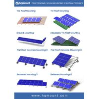 100kw adjustable metal roof brackets for solar panel mounting system