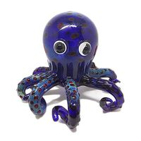 Glass Art Pipe Animal Pipe Sea Creature Octopus hand pipe smoking pipe for dry herb smoking