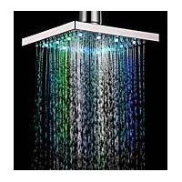 LED spraying shower