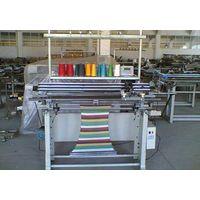 semi-automatic flat knitting machine