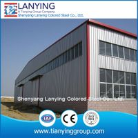 cheap prefabricated steel structure warehouse made of steel structure thumbnail image