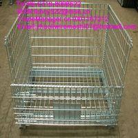 galvanized folding wire mesh cage wholesale price