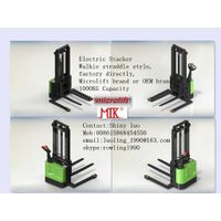 Straddle Electric Stacker factory, Microlift or OEM brand, 1.0MT Capacity, ES10S Model thumbnail image