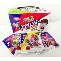 Windmill shape hard candy multi fruit flavor with lovely shape and good taste toy candy
